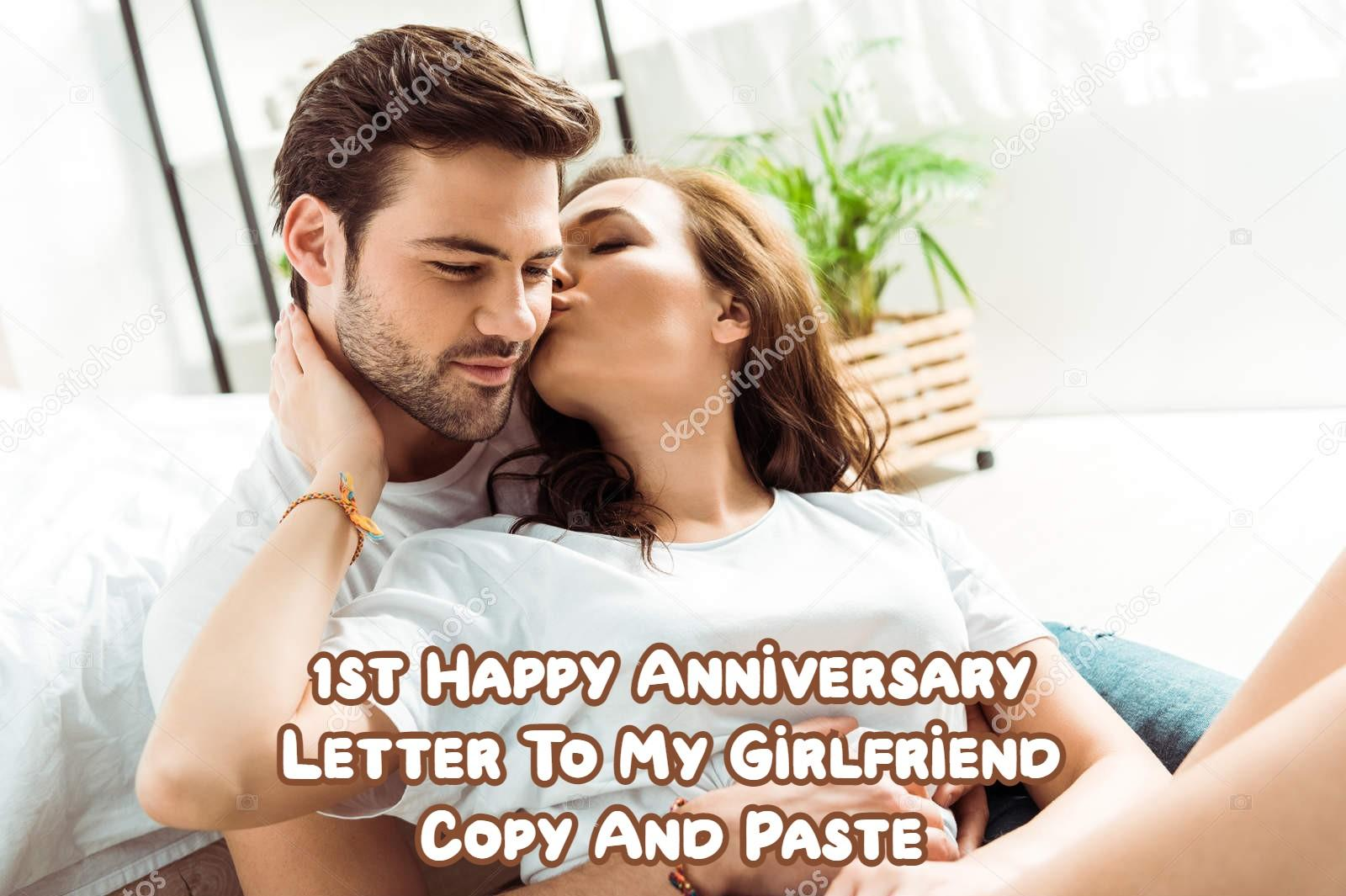 Happy Anniversary Letter To My Girlfriend