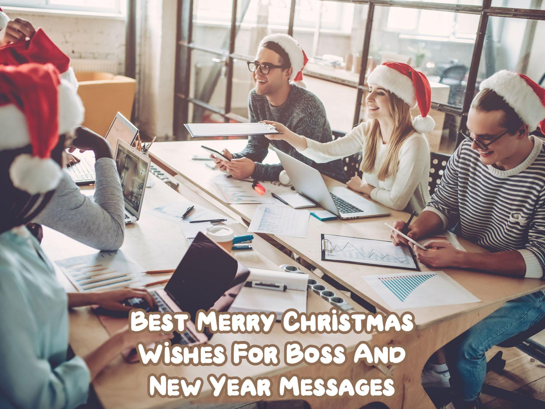Best Merry Christmas Wishes For Boss