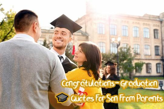 Graduation 🎓 Quotes For Son