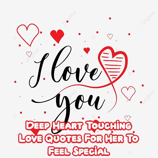 Deep Heart Touching Love Quotes For Her