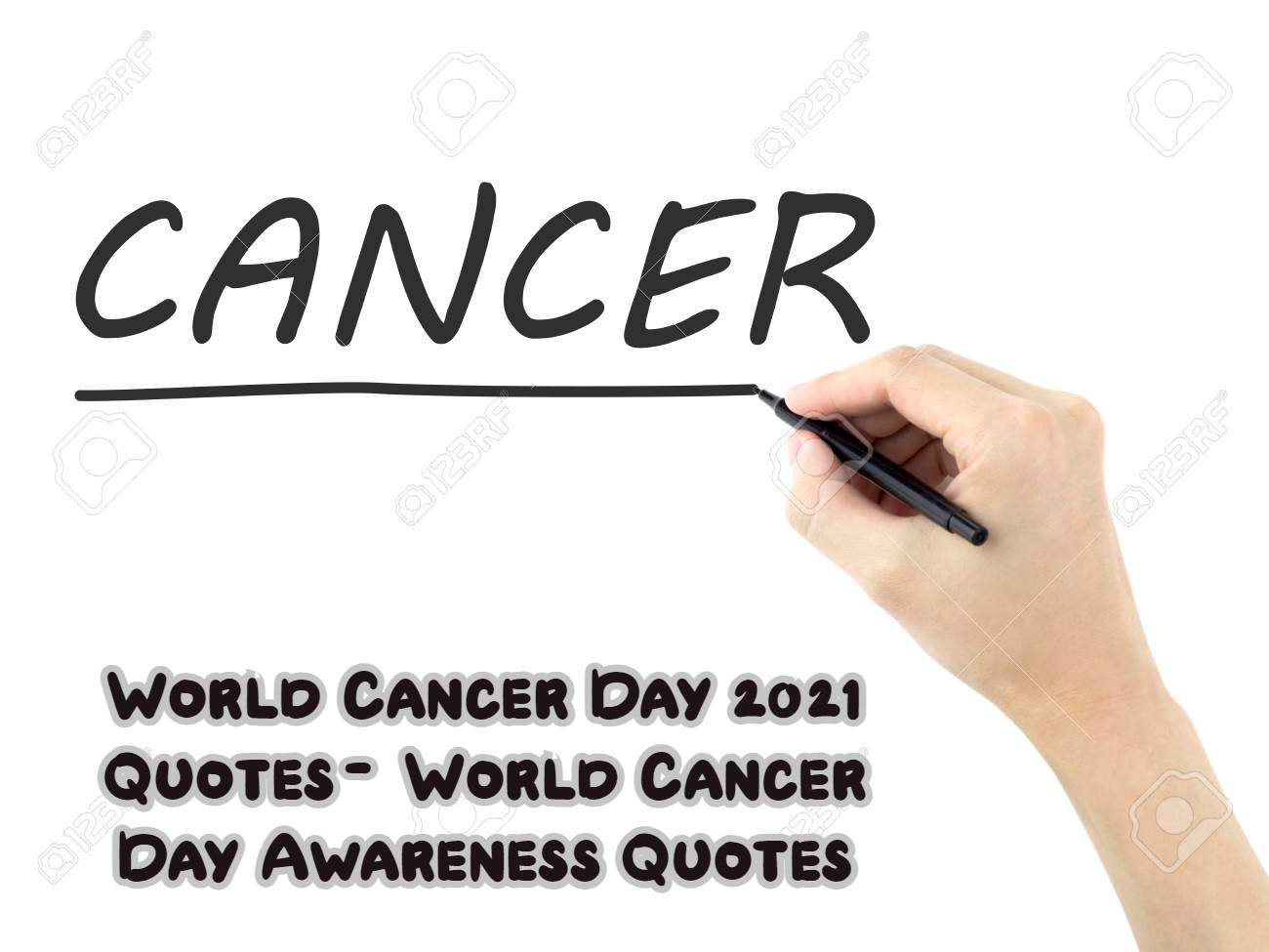 World Cancer Day 2021 Quotes